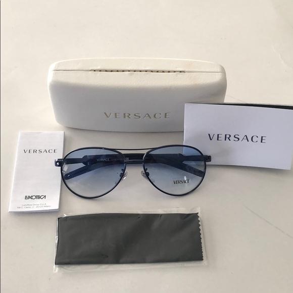 Versace Other - Versace unisex sunglasses metal MOD X71